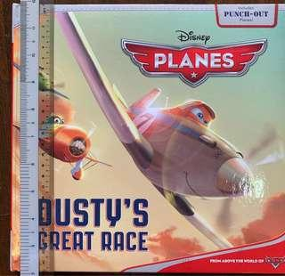 🚚 Disney Planes - Dusty's Great race storybook (hardcover)