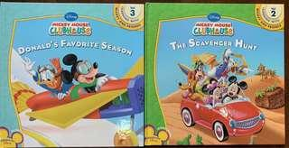 Disney learning with Mickey Mouse Clubhouse books