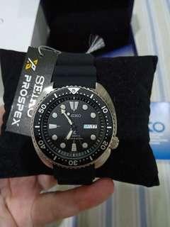 Seiko Prospex SRP777K1 Turtle Black Dial Brand New Garansi Resmi