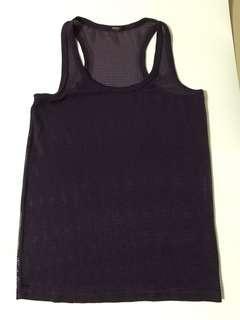 M)phosis Purple Vest
