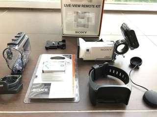 Sony 4K FDR-X3000R Action Cam + $248 Accessories