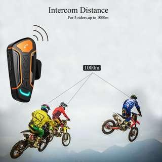 7f155088dfe Motorcycle Helmet Bluetooth Wireless Walkie Talkie