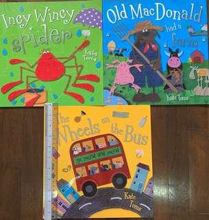 Nursery Rhyme Singalongs - Wheels on the Bus, Old McDonald, Incy Wincy Spider