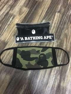 #MakeSpaceForLove Bape Mask