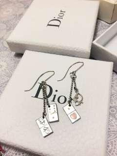 Dior earring 耳環 骰子