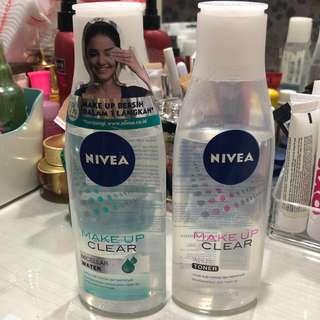 Nivea Micellar Water & Toner