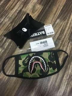 #MakeSpaceForLove Bape Shark Face Mask