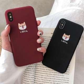Cute Shibainu Dog Phone Casing/ Covers for All iPhone Models