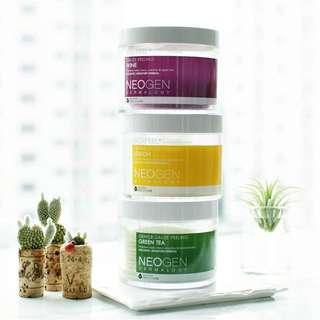 Neogen Dermatology Bio Peel Gauze (Wine/ Green Tea/ Lemon/ Real Cica Pads)