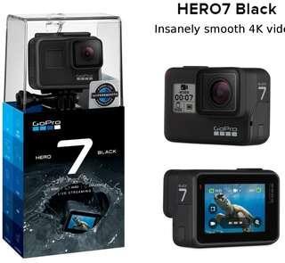 🚚 GoPro Hero 7 Black Brand New