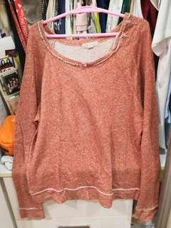 FOREVER21 Brown oversized sweater