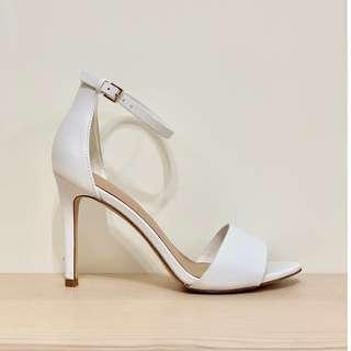 🚚 ALDO 一字繫帶露趾跟鞋