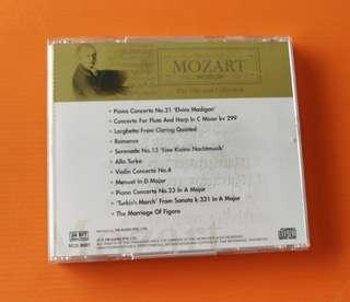 CD Mozart classical piano collection music 莫扎特古典纲琴音乐