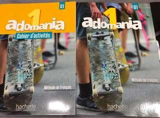 🚚 French Adomania 1 A1 Text Book & Activity Book