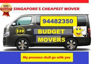 24HR BUDGET MOVER