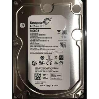 Seagate Archive HDD 8TB (Model: ST8000AS0002)