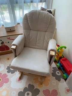 34a23bd0e67 Reclining rocking chair