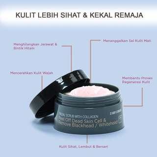 Preloved Sendayu Tinggi Facial Scrub with Collagen for Oily Skin