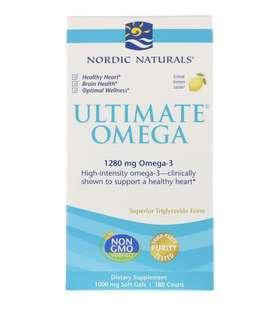 Brand New Nordic Naturals Ultimate Omega Fish Oil