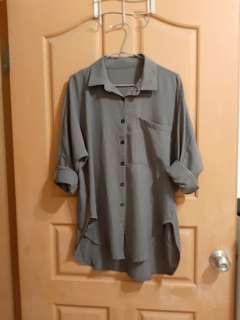 🚚 鐵灰襯衫