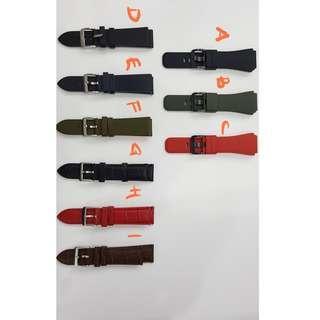 Ori Samsung gear S leather and silicone strap (M)