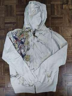 Printed Jacket with Hoodie and pockets