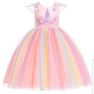 🚚 Unicorn Princess Dress