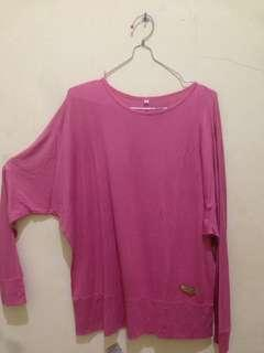Batwing pink dusty