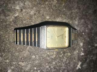 VINTAGE ANTIQUE SEIKO SX WRIST WATCH MENS COLLECTIBLE