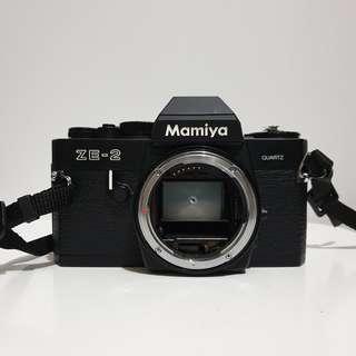 Mamiya ZE-2 Quartz SLR 35mm