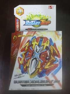 Buster Xcalibur c/w holder - Beyblade battle series