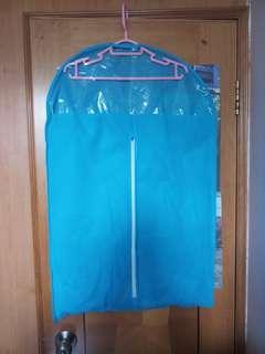 清貨 減價 藍色 粉紅色 透明視窗防塵袋 防塵罩 衣服罩 衣物袋 外套袋