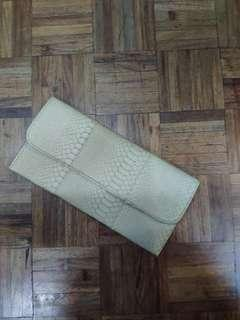(With Tag, Never used) Party Clutch - Khaki