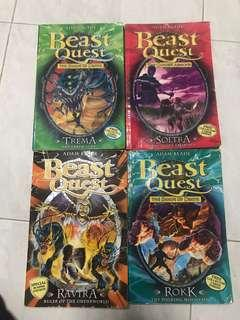 🚚 Beast Quest Books