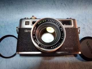 yashica electro 35 gtn 旁軸相機。有机套。