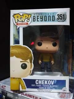 Funko pop Chekov.