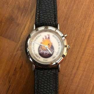 🚚 VINTAGE! Limited Edition Tokyo Disneyland Light Magic Show Watch (Only 1500 released and with unique serial number)