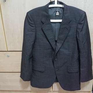 Business / wedding suit jacket man black