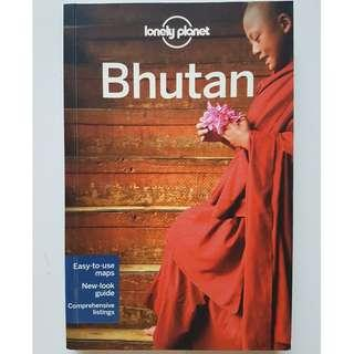 Lonely Planet Bhutan travel guide 4th edition 2011