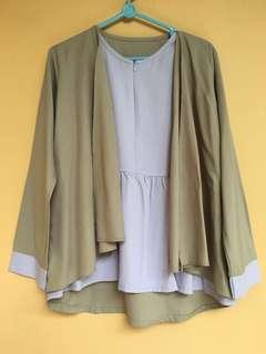 Atasan blouse outer