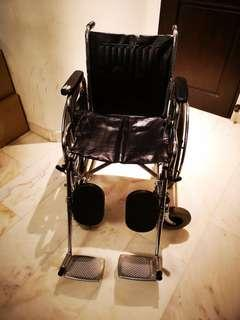 Under-utilised wheelchair