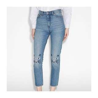 Monki Cat Jeans