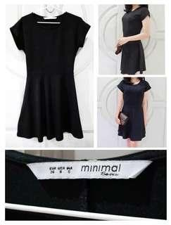 Mididress Black