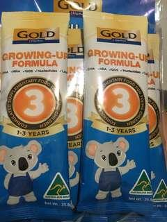 🚚 Gold Growing up formula