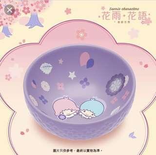 7-11 Little Twin Star 陶瓷碗