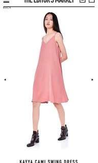 TEM KAYYA CAMI SWEET DRESS MILLENNIAL PINK