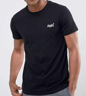 Superdry Orange Label Tee With Embroidered Logo