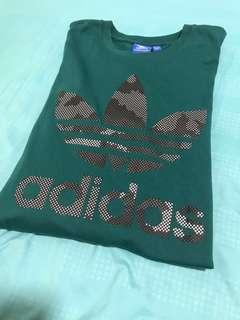 Adidas Tee In Green