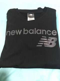 New Balance Cotton Tee In Black