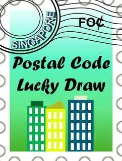 🚚 Singapore Free Postal Code Lucky Draw